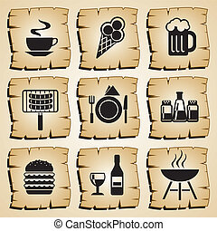 icons food