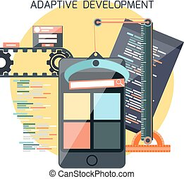Icons for adaptive development