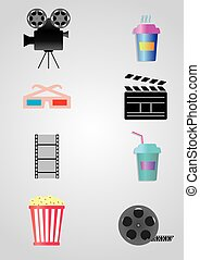 icons for cinema