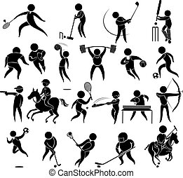 Icons for different kind of sports