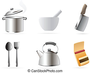 Icons for kitchen