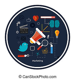 Icons for marketing