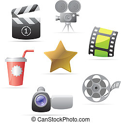 Icons for movies