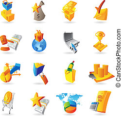 Icons for retail commerce