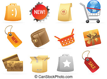 Icons for retail
