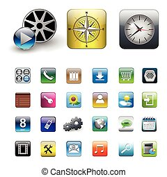 Icons for smartphone