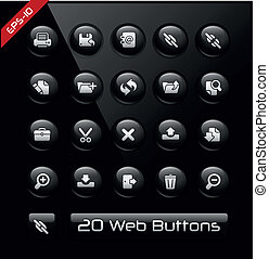 Icons for Software Developers - Vector buttons for your...