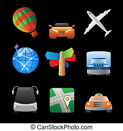 Icons for transportation