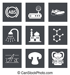 Icons for Web Design set 11 - Icons for Web Design and...
