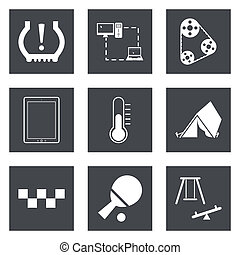 Icons for Web Design set 30