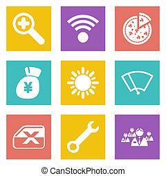 Icons for Web Design set 46