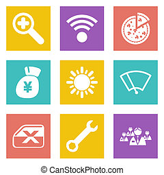 Icons for Web Design set 46