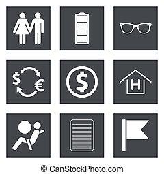Icons for Web Design set 47