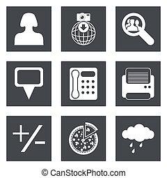Icons for Web Design set 49