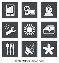 Icons for Web Design set 50