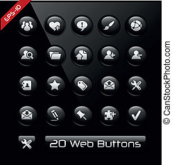 Icons for Web Developers - Vector buttons for your website...