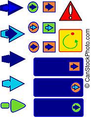 icons,