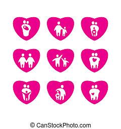 icons-love-parents-children