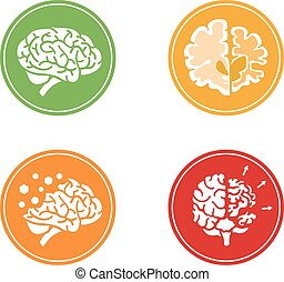 Icons of dementia and other mental problems
