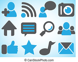 Icons of social network