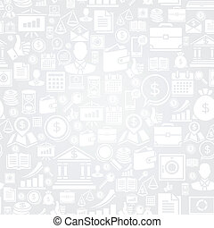 icons., patrón, seamless, empresa / negocio