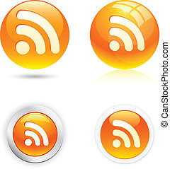 icons., rss