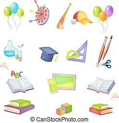 icons School theme