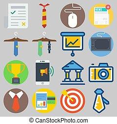 icons set about Digital Marketing . [keyword Random:3]