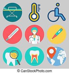 icons set about Medical . [keyword Random:3]