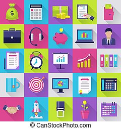 Icons set for internet marketing.