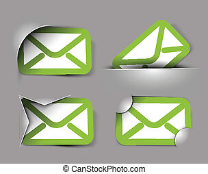 email icons design