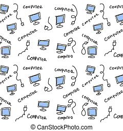 icons social computer network