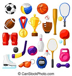 icons., sport, komplet