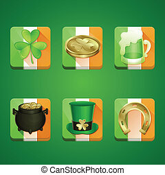 Icons St Patrick's Day