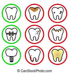 icons teeth