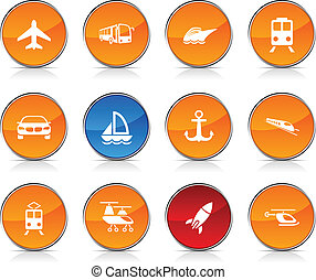 icons., transporte