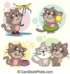 Icons with cats part 22.