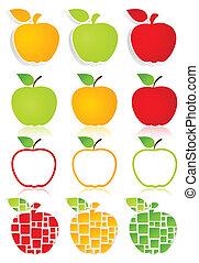 icons2, maçã