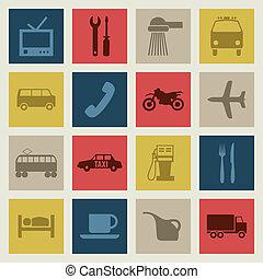 icons2, transport