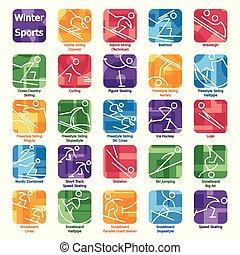 icons2.eps, olympics, inverno