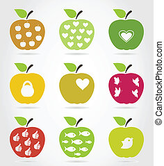 icons3, äpple