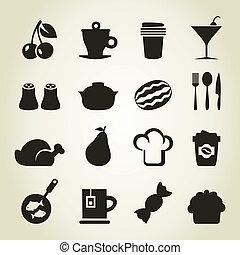 icons9, γεύμα