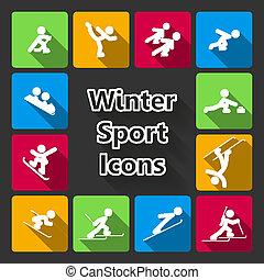 iconset, deportes del invierno