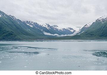 Icy River in Alaska