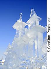 icy sculpture