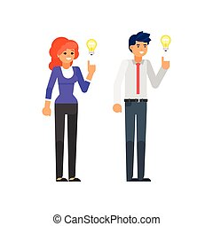 idée, caractères, avoir