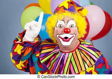 idée, clown