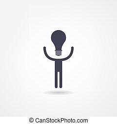 idée, icône