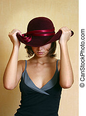 idées, dans, a, chapeau