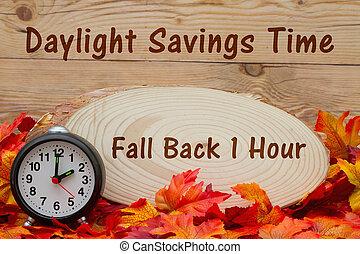 idő, megtakarítás, üzenet, napvilág